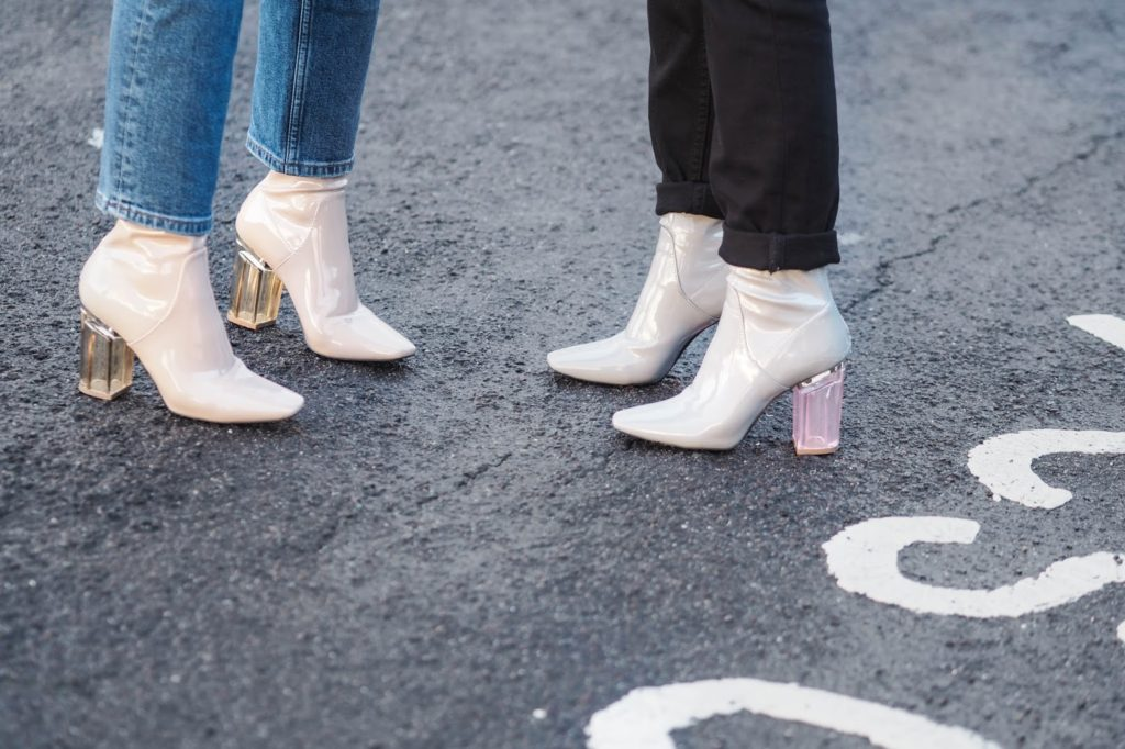 Women's Accessories Fashion Trends Lucite Boots