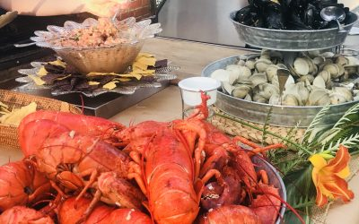 Lobster Bakes in the Fall