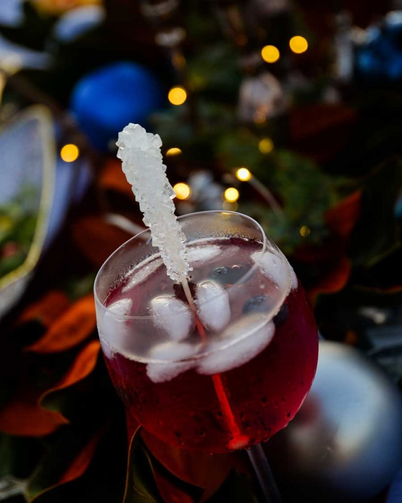 Holiday Party With Drinks